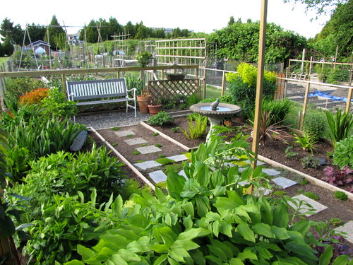 Urban farming at the London Heritage Farm in Richmond BC