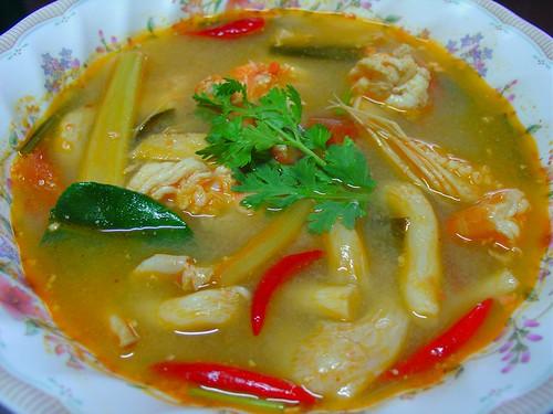 Tom Yum Goong by Chef Jasmine :-)