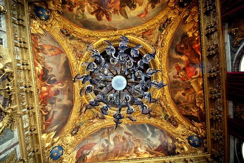 Versailles Chandeler Ceiling