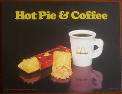 1976 McDonald's Hot Pie & Coffee sign (daniel85r) Tags: mcdonalds vintagefood