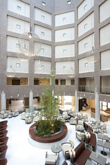 Hilton Doubletree Olbia Sardinia Hall 1 (Hotel Photography) Tags: italy tree pool breakfast bar port swimming restaurant hall airport sardinia terrace space room twin meeting double presidential junior buffett suite gym doubletree olbia balconi