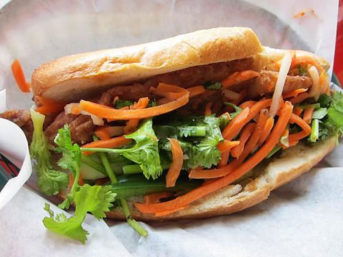 06 Hanoi Catfish sandwich - Banh Mi Restaurant