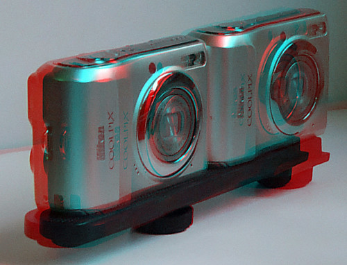 3D Cameras in Anaglyph 3D