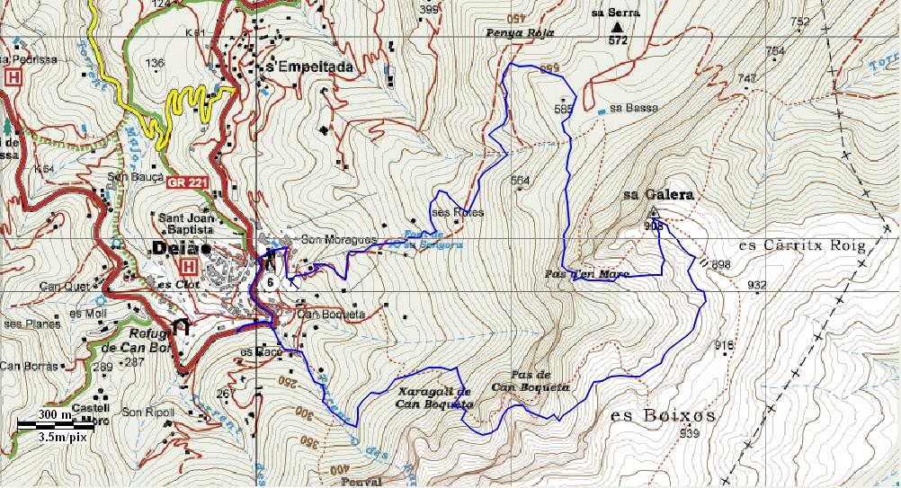 mapam ruta