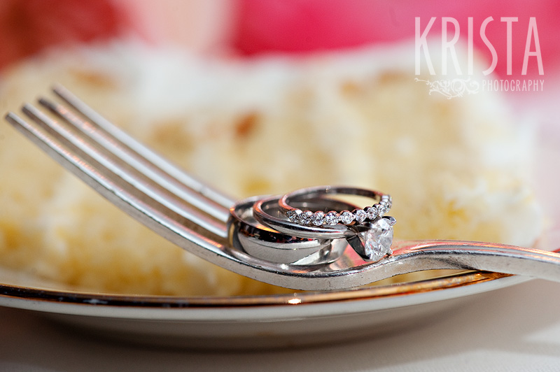 Rings for Dessert - Spring Wedding at the Commander's Mansion