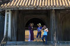 Ao dai Hue (pinnee.) Tags: travel unesco hue unescoworldheritage centralvietnam tuductomb thuathienhue mintrung