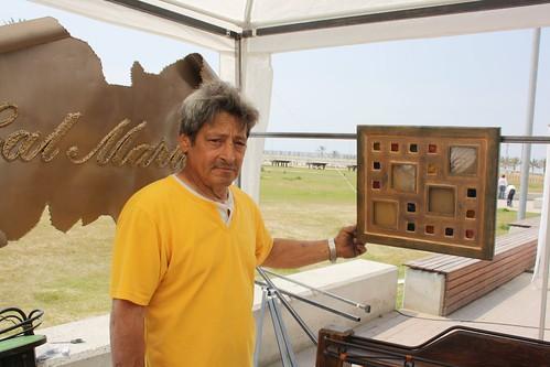 Luis Cardona en la 5ª Mostra d'Art