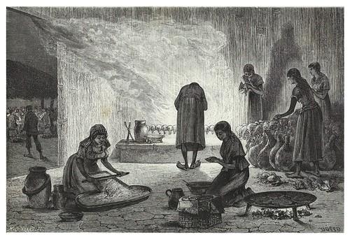 024-Preparando la fiesta-Mexico-Les Anciennes Villes du nouveau monde-1885- Désiré Charnay