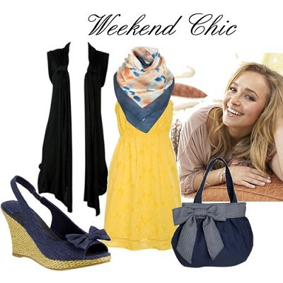 05 May - Black Sleeveless Cardi - Weekend Chic