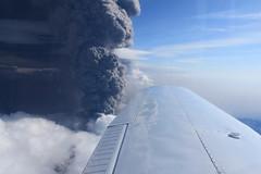 Day and night (B&B Kristinsson) Tags: cloud nature volcano iceland glacier eldfjall jkull eyjafjallajkull dustcloud volcaniceruption eldgos eyjafjallajkullvolcano volcanoiniceland eyjafjallajkullvolaniceruption
