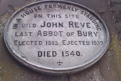 Photo of John Reve stone plaque