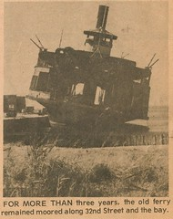 Knickerbocker Ferry aground in Ocean City, MD (kschwarz20) Tags: history ferry 1974 md maryland oceancity kts statenislandferry knickerbocker beachcomber ocmd