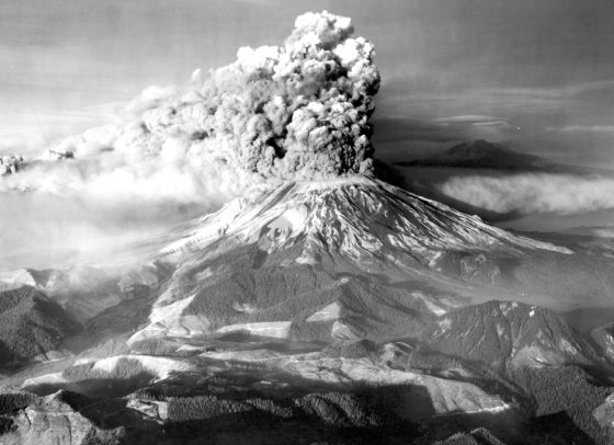 Volcán Monte Santa Helena