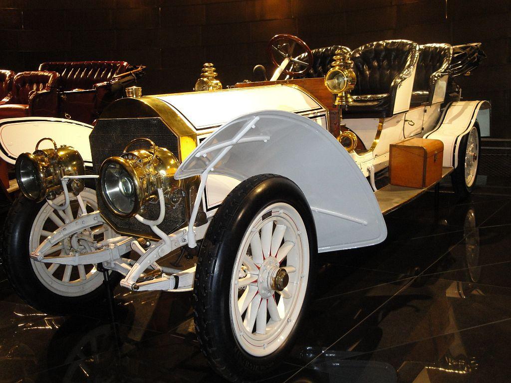 1908 Mercedes 75 PS Doppelphaeton