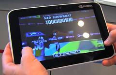 BackBreaker NVIDIA Tegra 2 Tablet Prototype