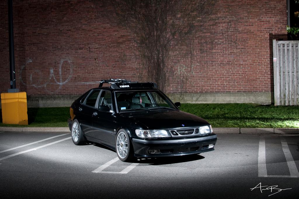 ADV.1 Wheels | Slammed Saab | Pfaff Tuning - YouTube