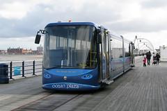 Southport Pier Tram (DaveAFlett) Tags: pier southport merseyside