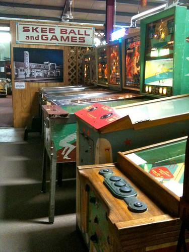 Vintage Arcade Old Sled Works