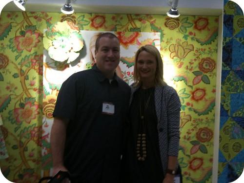Me & Amy Butler!
