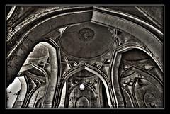 Arches (B/W), Ibrahim-Rauza, Bijapur