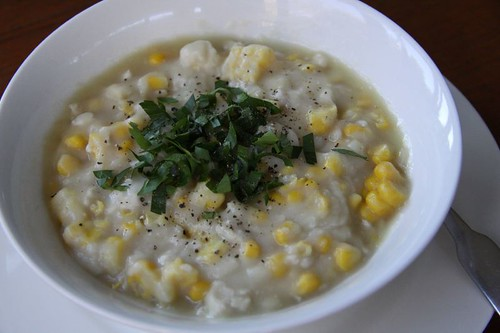 Chicken & Corn Soup...