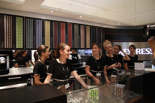 The Nespresso girls