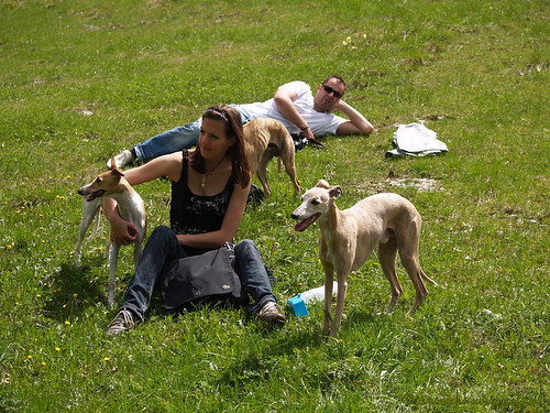 Monte Baldo Christina mit Nisha und Coco P5222632