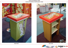Branded Presentation Tables - X-Board Print
