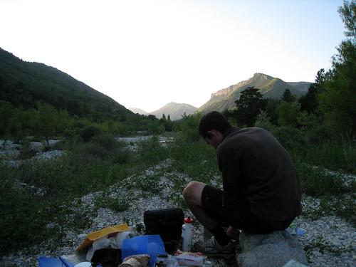 Free Camp near Barreme