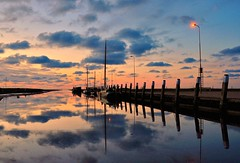 Total reflection, long after sunset (powerfocusfotografie) Tags: sunset sea sky holland reflection water beauty clouds waddenzee landscape mirror scenery europe scene unesco groningen moment eternity dramaticsky magical henk bluehue worldheritagelist waddensea momentintime noordpolderzijl hetwad nikond90 flickraward twad powerfocusfotografie theadvantageofbeingnearwater