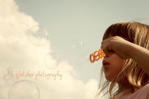 bubbly sky