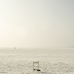 paint it white (moggierocket) Tags: winter white snow cold silhouette frozen chair shoes view space iceskating horizon skating wide freezing figure distance solitary endless vast 500x500 markermeer winner500 takenoff iampaintingmyhouseinshadesofwhite ifitwilllooklikethisintheendiwillbeverypleased