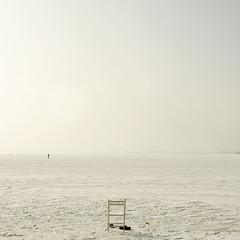 paint it white (moggierocket) Tags: winter white snow cold silhouette frozen chair shoes view space iceskating horizon skating wide freezing figure distance solitary endless vast 500x500 markermeer winner500 takenoff iampaintingmyhouseinshadesofwhite ifitwilllooklikethisintheendiwillbeverypleased