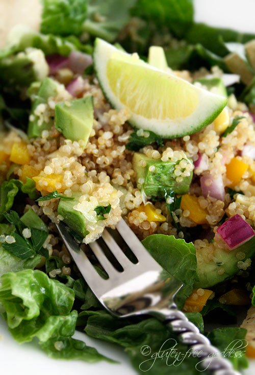 Quinoa Taco Salad and more gluten free quinoa recipes