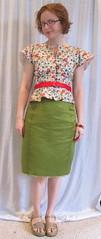 Front (sewyerown) Tags: sewing blouse cotton alexander blouses burda burdastyle cottonlawn alexanderblouse burdastyle6062