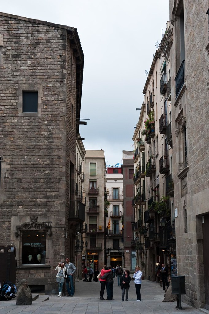 Going around Barcelona