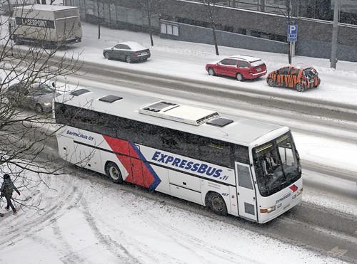 Savonlinja bus #487, Helsinki