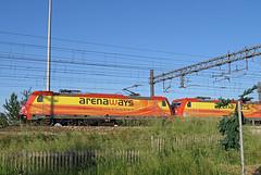 E483.020 + 019 Arena Ways (Maurizio Zanella) Tags: italia trains db arena railways ways aw alessandria treni autozug ferrovie e483019 e483020