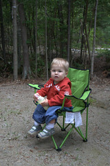 My Son's first camping trip - Inverhuron Provincial Park (Mahones) Tags: camping ontario canada nature canon outdoors parks greatlakes huron provincialparks xti inverhuronprovincialpark sigma18200dcos