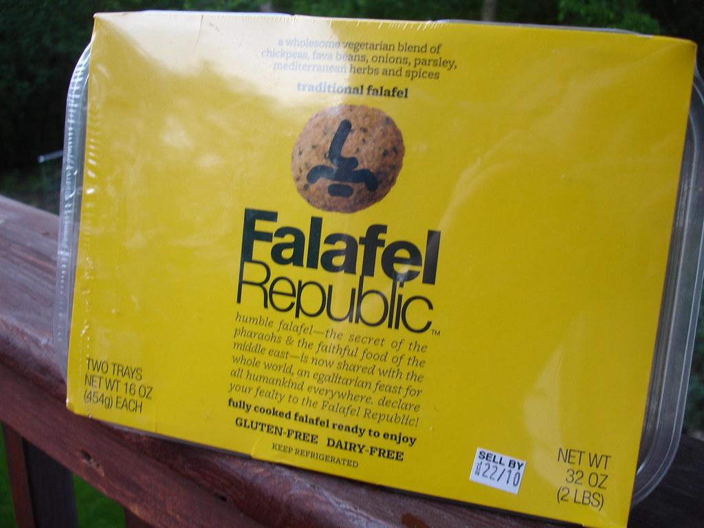 Costco falafel