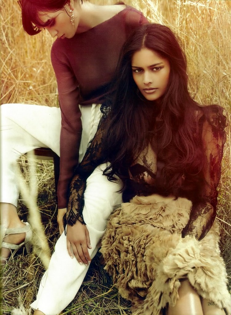 Alyssah Ali & Ocean - Vogue India October 2010 - 6