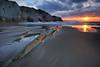 Itzurun (jonlp) Tags: sea nature landscape dusk natura euskalherria basquecountry gipuzkoa zumaia itsasoa ilunabarra itzurun paisajea