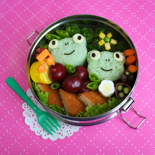 yum-yum frogs bento