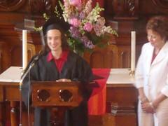 Liz Grey graduation speech