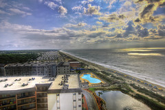 Myrtle Beach in HDR