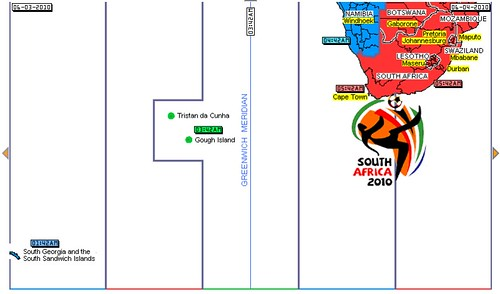 FIFA 2010 - South Africa Time Zone
