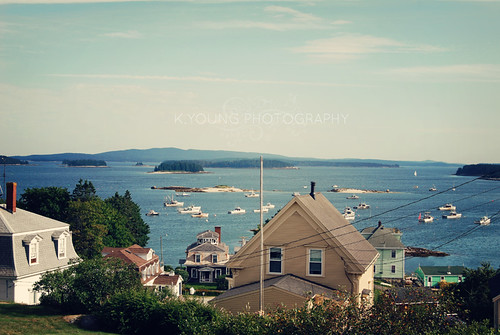 Stonington, Maine: View from Church Street