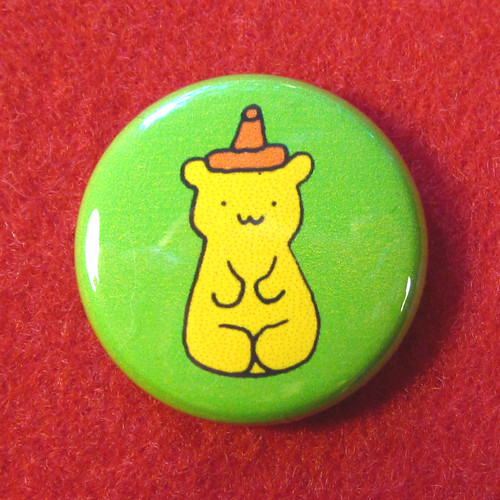 Honey Bear Button 1