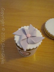 windmillcup (Niki SG) Tags: ballet baby art windmill girl cupcakes handmade sugar crown booties fondant sugarpaste