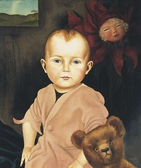 Christian Schad, Nikolaus (Portrait of Nikolaus Schad as a Child), 1925 (kraftgenie) Tags: portrait germany weimar doll child schad